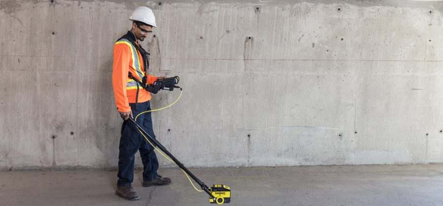 Conquest gpr case study; Post-tension cable scan