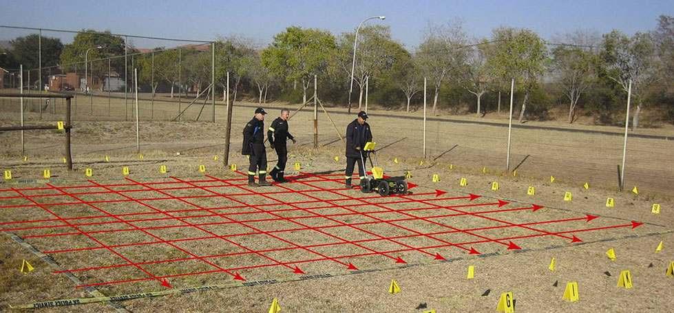 People using Ground Penetrating Radar equipment from Sensors & Software