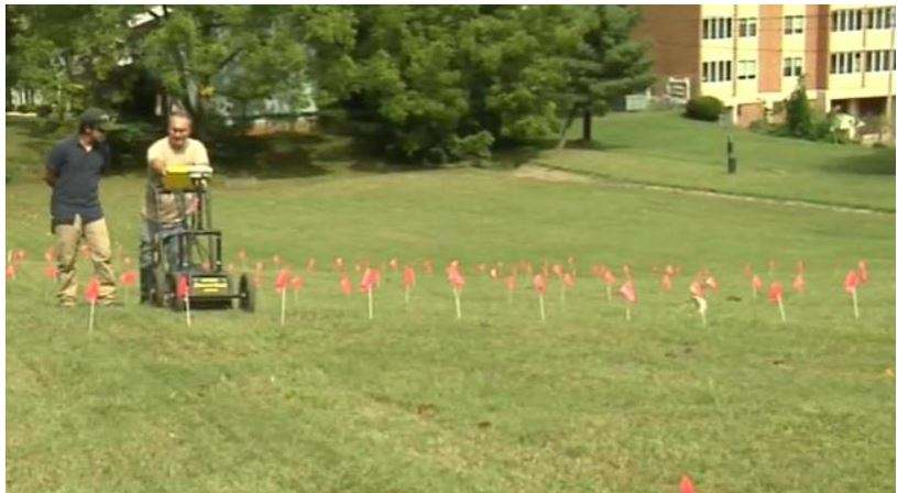 City works to restore African-American cemetery with GPR