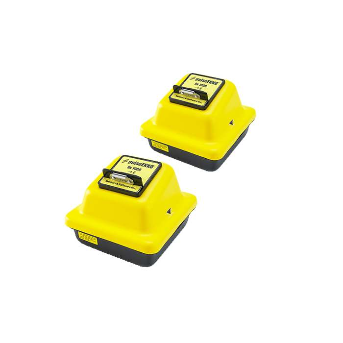 pulseEKKO® GPR 1000 MHz Transducers