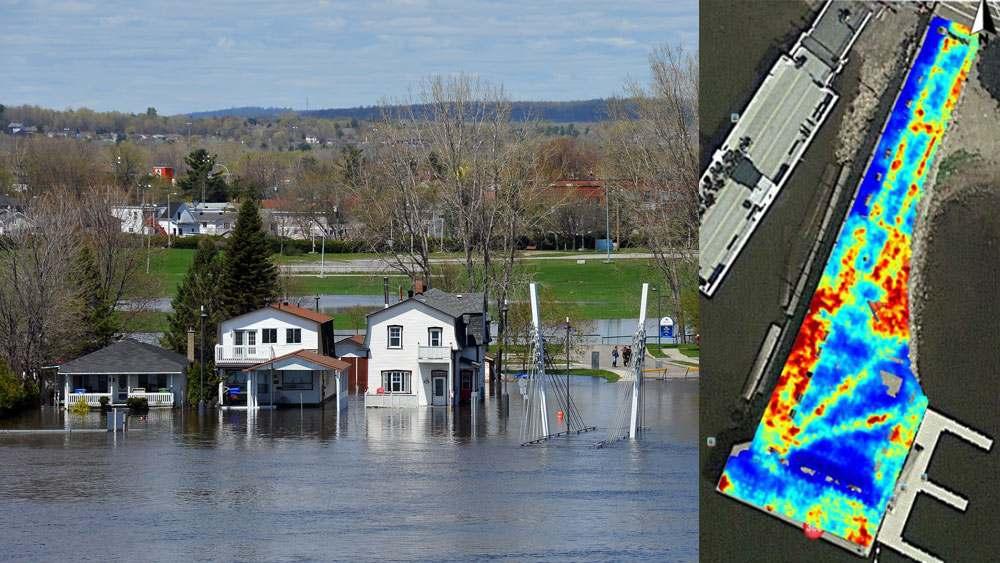 utility damage and flood